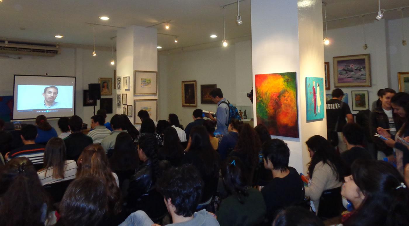 Presentación del libro DESAFIOS en la ciudad de Corrientes