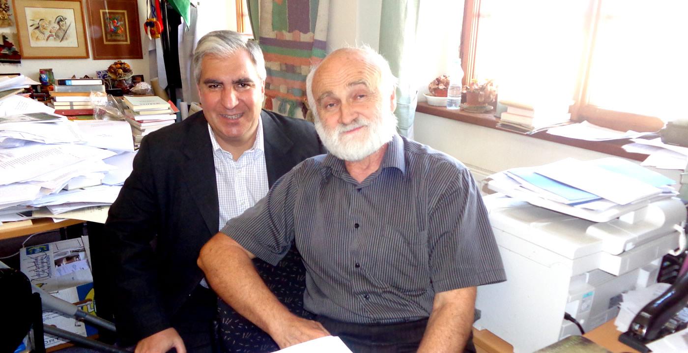 Gabriel Salvia participó en el 19° Forum 2000 en Praga