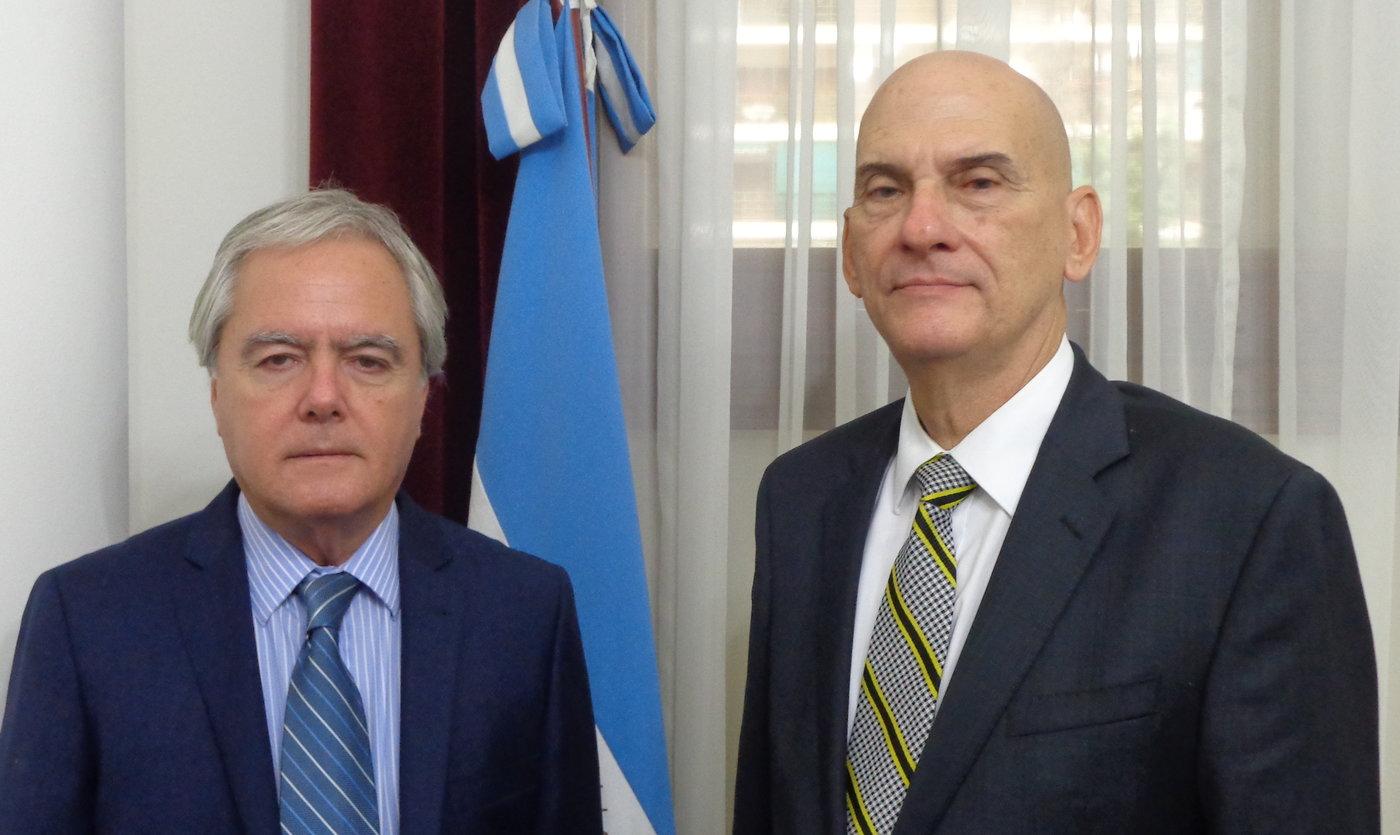 René Gómez Manzano visitó Buenos Aires