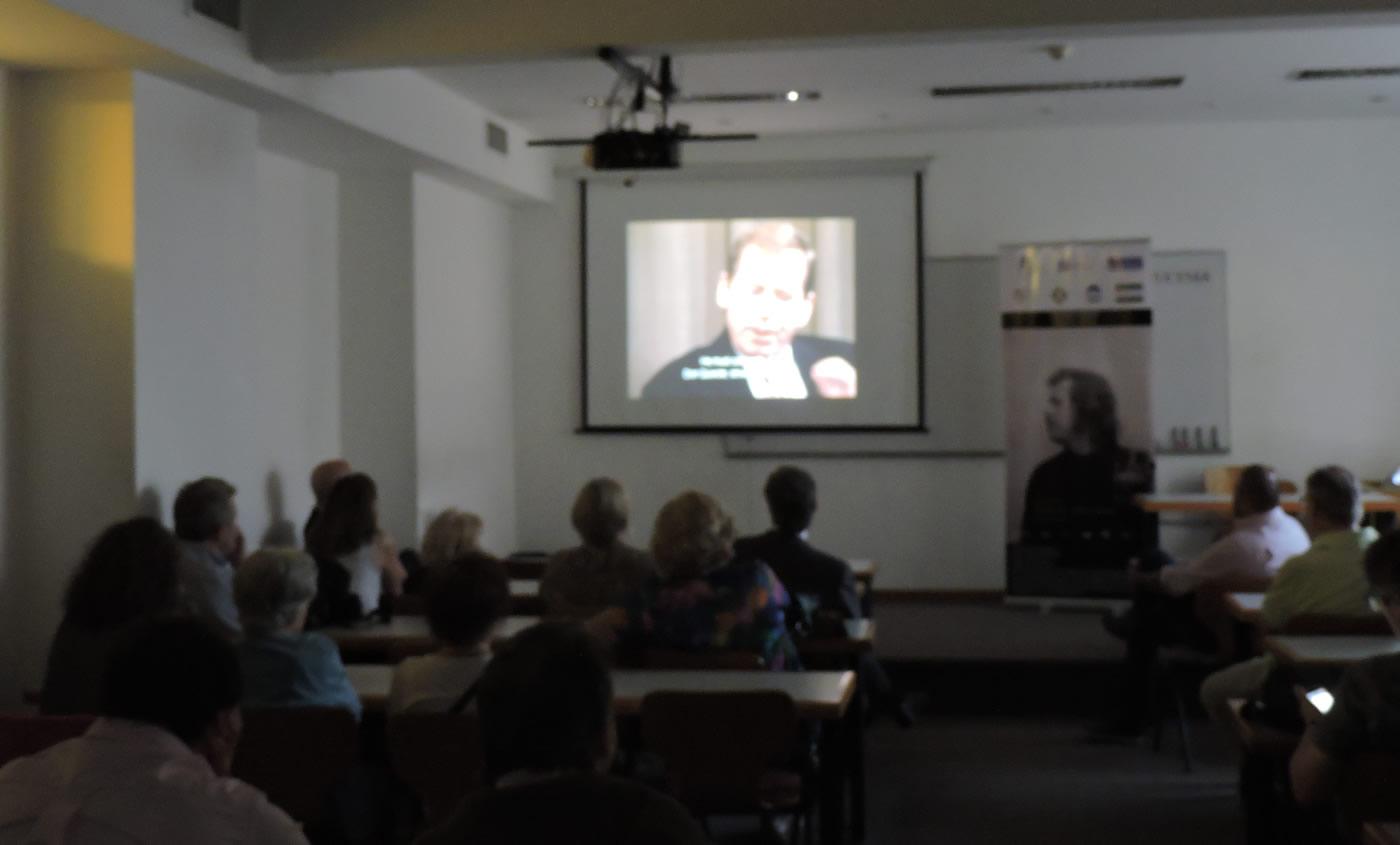 Se estrenó en Buenos Aires documental sobre Havel