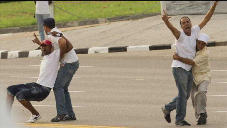 Detensión de disidentes durante la visita del papa Francisco a Cuba