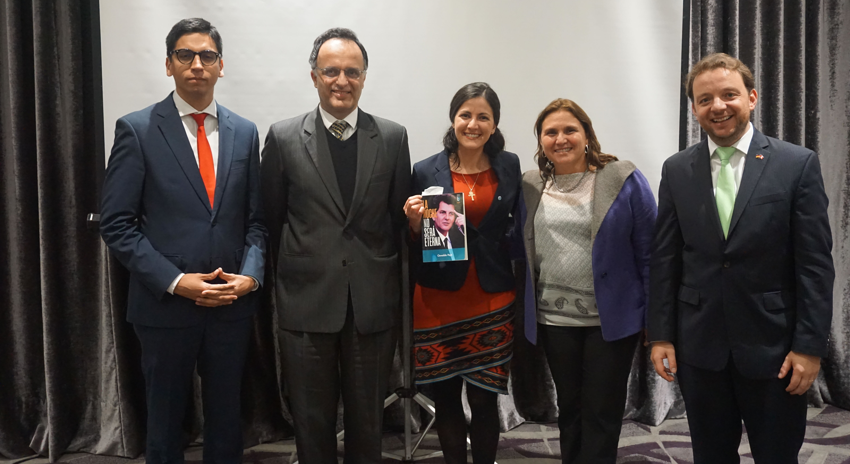 Rosa María Payá presentó el libro de su padre en Lima