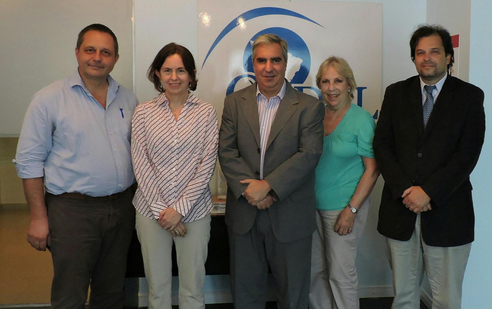 Tristán Rodríguez Loredo, Sybil Rhodes, Gabriel C. Salvia, María Teresa Reviriego y Bernabé García Hamilton