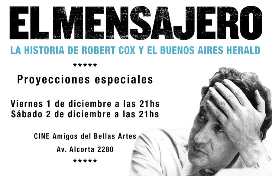 El Mensajero - La Historioa de Robert Cox y el Buenos Aires Herald