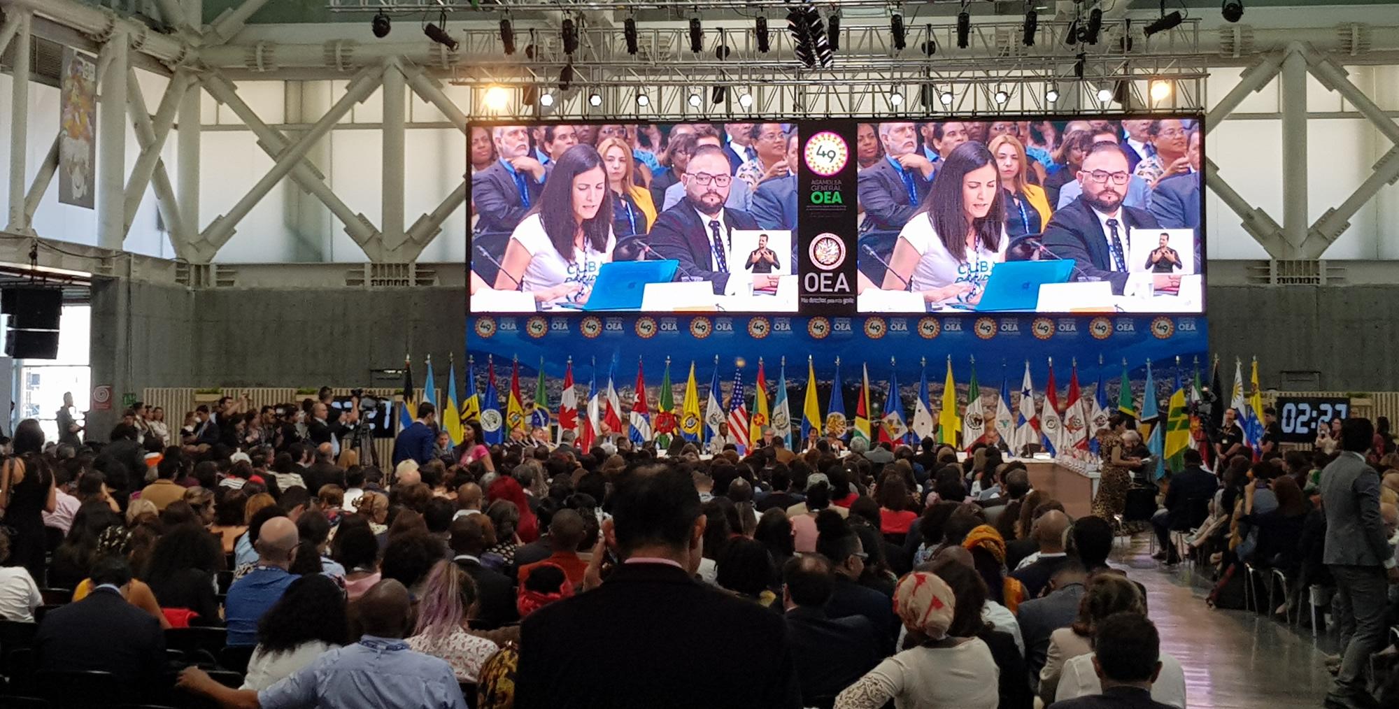 Asamblea de la OEA en Medellín