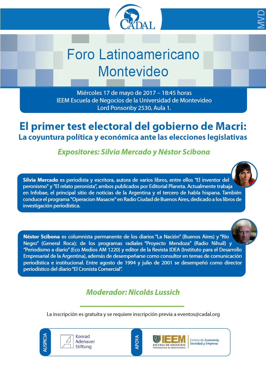 Foro Latinoamericano Montevideo | 17 de Mayo de 2017