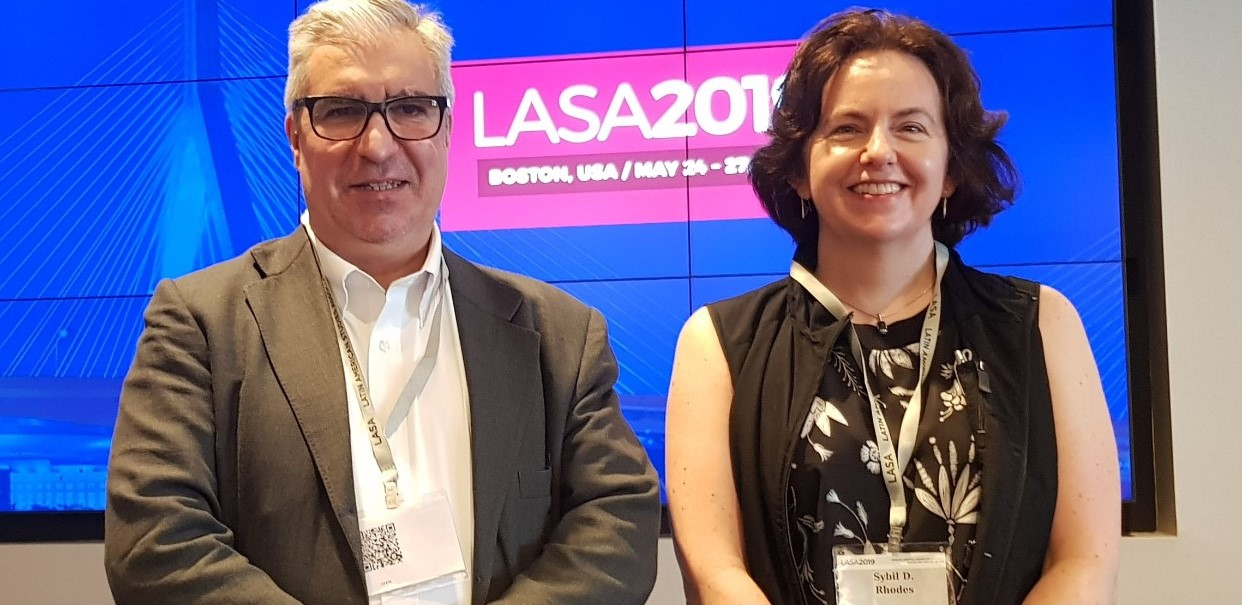 Participación en la Conferencia de LASA en Boston