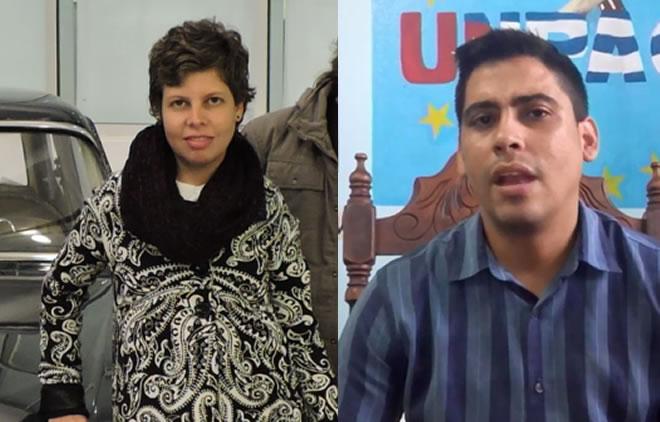 Lía Villares y Carlos Amel Oliva Torres