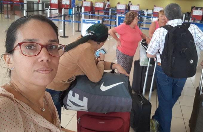 Reclamo por prohibición de viaje a periodista cubana