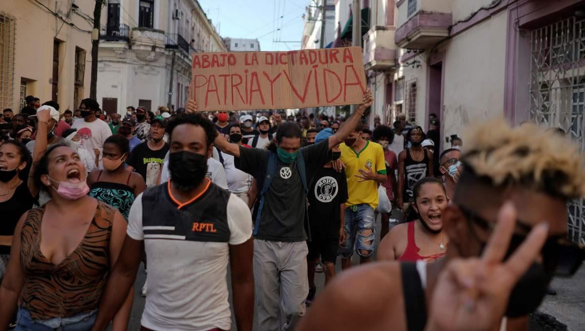 Organizaciones y medios independientes llaman al Gobierno de Cuba a  respetar el derecho de manifestación y libertad de expresión y a detener la  violencia contra manifestantes   CADAL