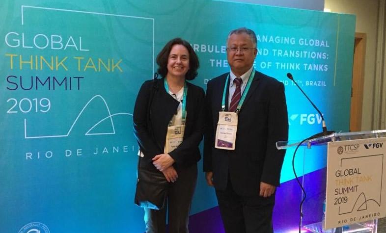 Rhodes participó en el Global Think Tank Summit 2019