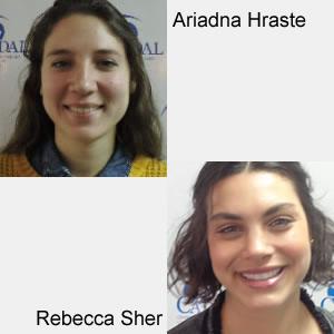 Ariadna Hraste y Rebecca Sher