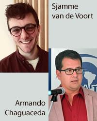 Armando Chaguaceda y Sjamme van de Voort