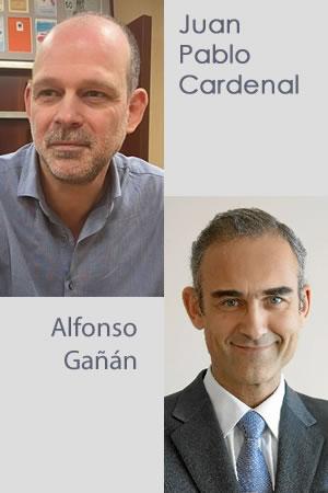 Juan Pablo Cardenal y Alfonso Gañán