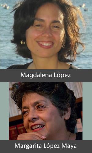 Magdalena López  y Margarita López Maya