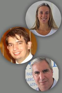 Adrián Lucardi, Gabriel C. Salvia y María Delia Porta