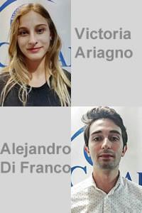 Victoria Ariagno y Alejandro Di Franco