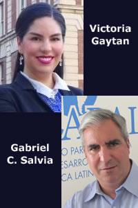 Victoria Gaytan y Gabriel C. Salvia