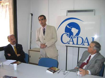 Ricardo Trotti, Jorge Elías y José Ignacio García Hamilton.