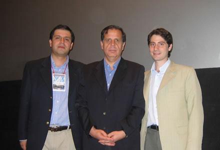 Marcelo Chávez, Presidente de la JDC y de la JODCA; Gutenberg Martínez, Presidente de la ODCA, y Hernán Alberro