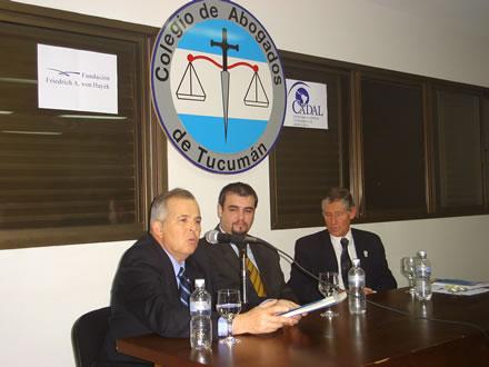 José Ignacio García Hamilton, Ricardo López Göttig y Raúl Martínez Araoz