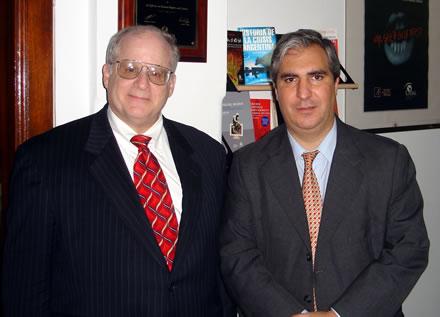 Dan Grossman, Vice Chairman de la Atlas Economic Research Foundation y Gabriel C. Salvia, Presidente y Director General de CADAL