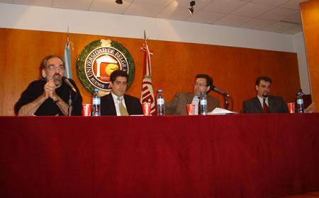 Fernando Iglesias, Patricio Navia, Ceferino Reato y Ricardo López Göttig
