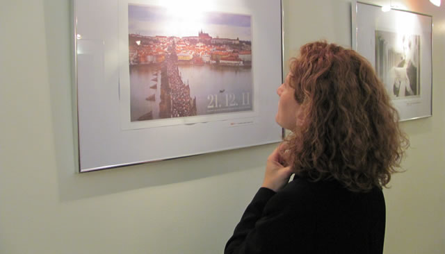 Muestra fotográfica sobre Vaclav Hável