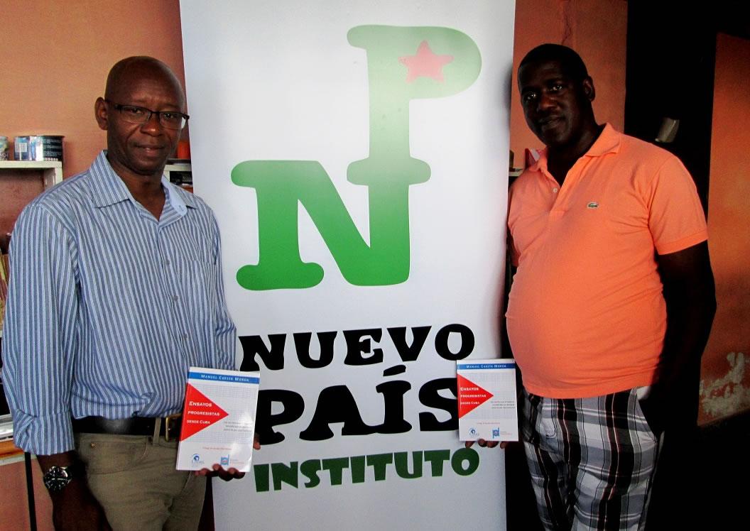 Cuesta Morúa presentó su libro en La Habana