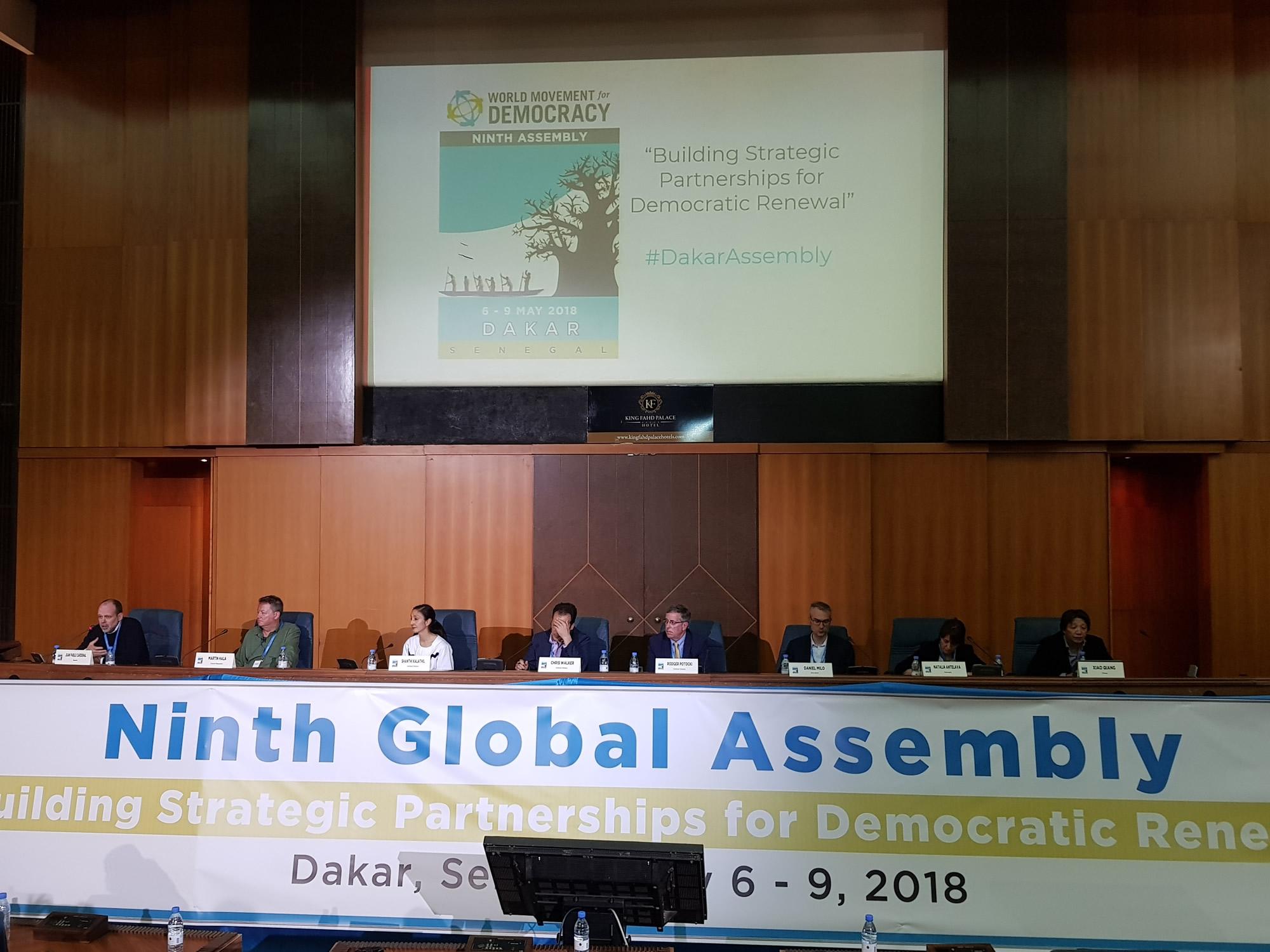 CADAL participó en Dakar de la 9na Asamblea del Movimiento Mundial para la Democracia