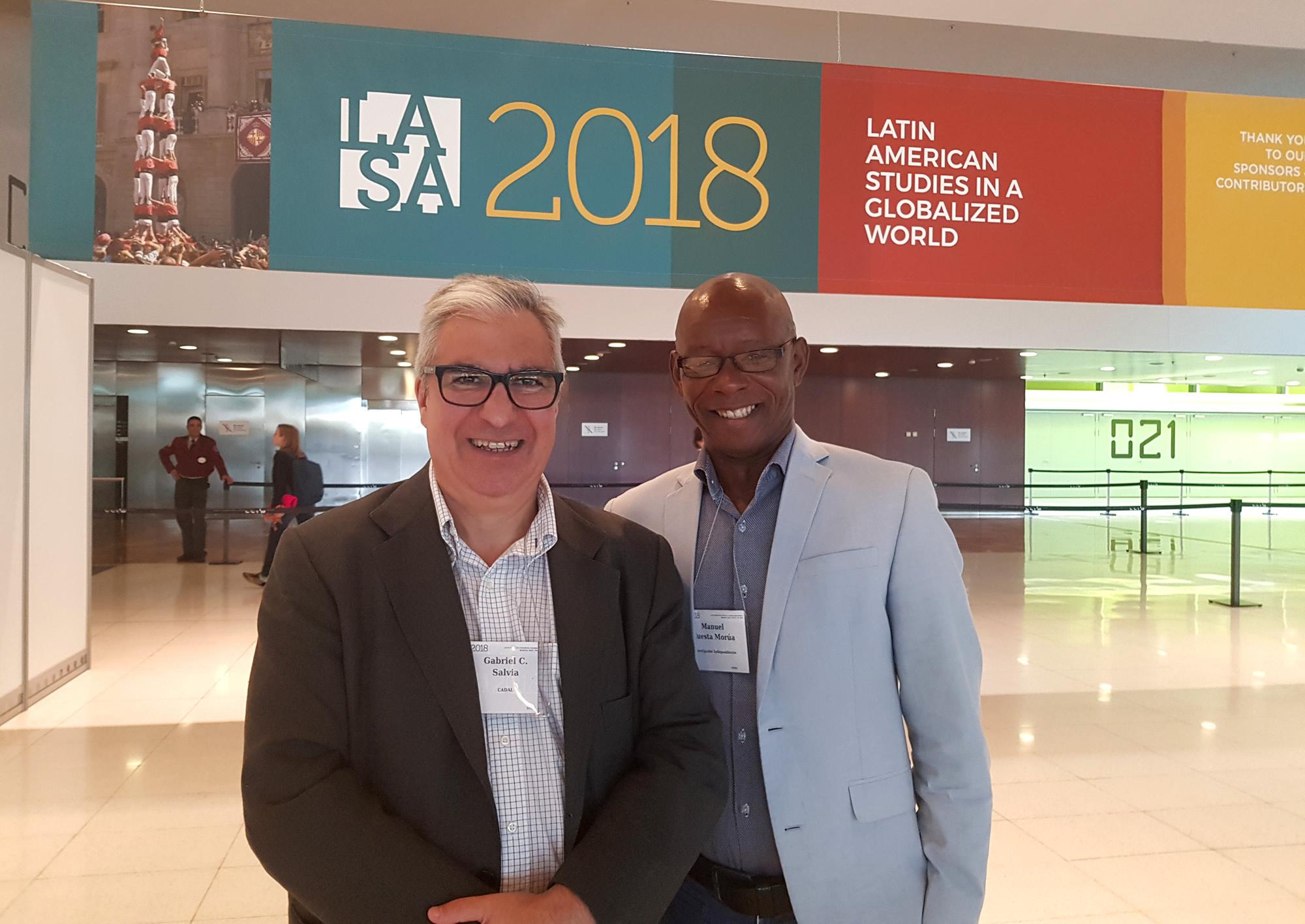 Participación en la Conferencia de LASA en Barcelona