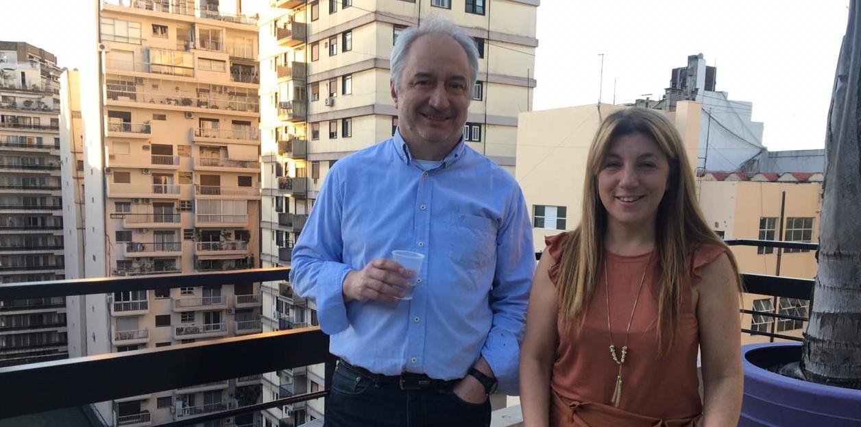 Sergio Casais y Marisa Di Vitto