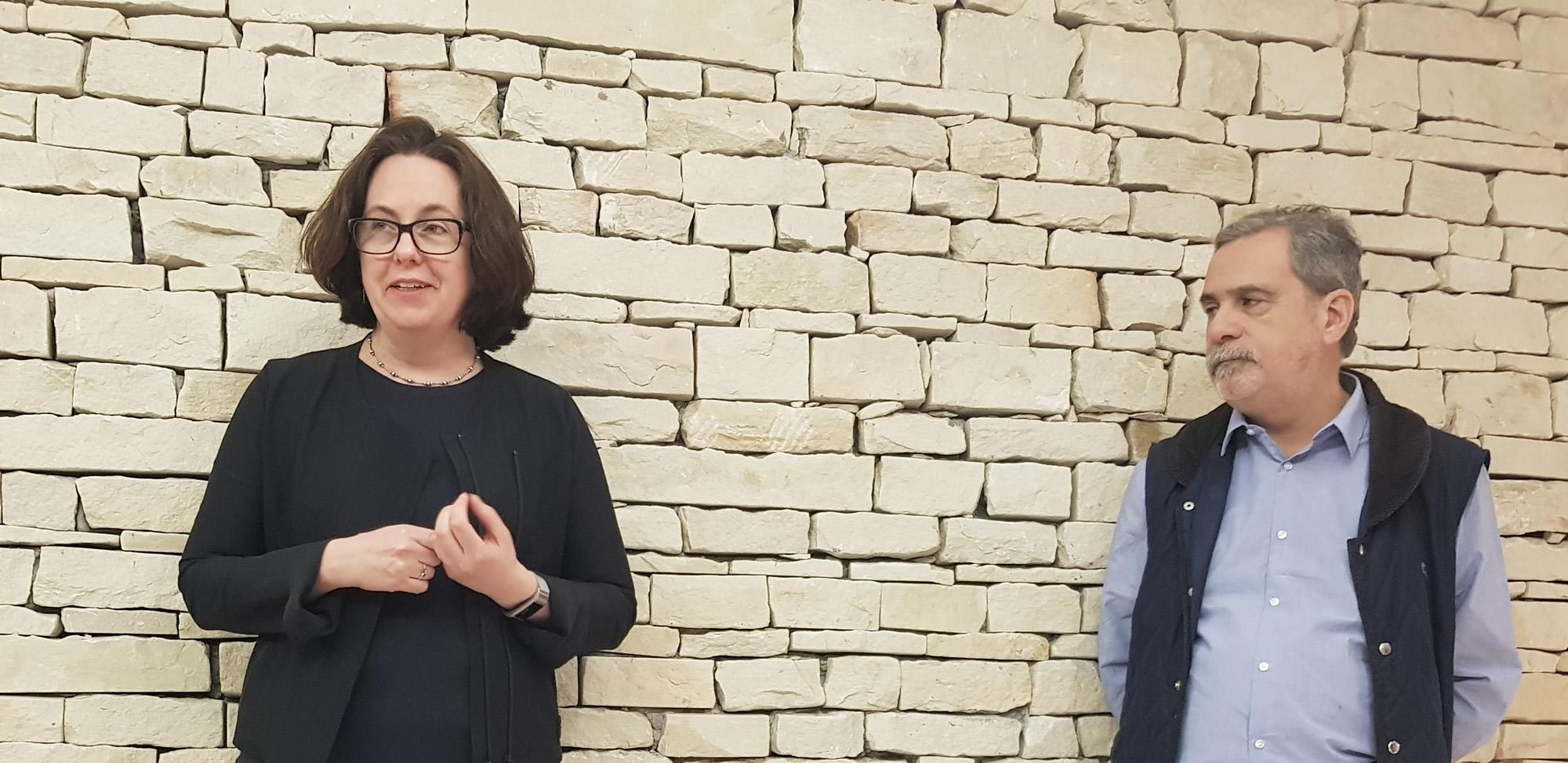 Sybil Rhodes y Carlos Fara, Presidente y Vicepresidente de CADAL, respectivamente