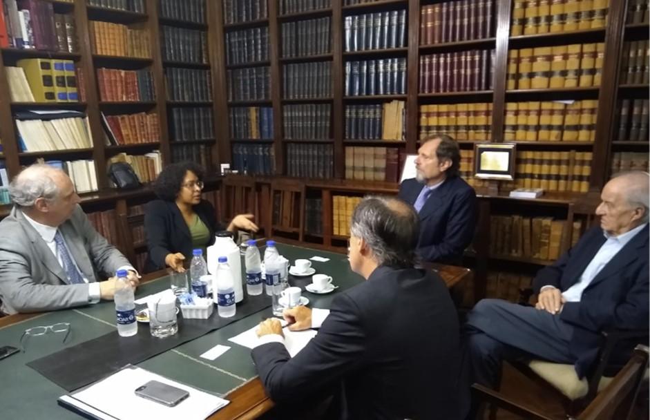Diversent se reunió con autoridades del Colegio de Abogados de la Ciudad de Buenos Aires (CACBA)