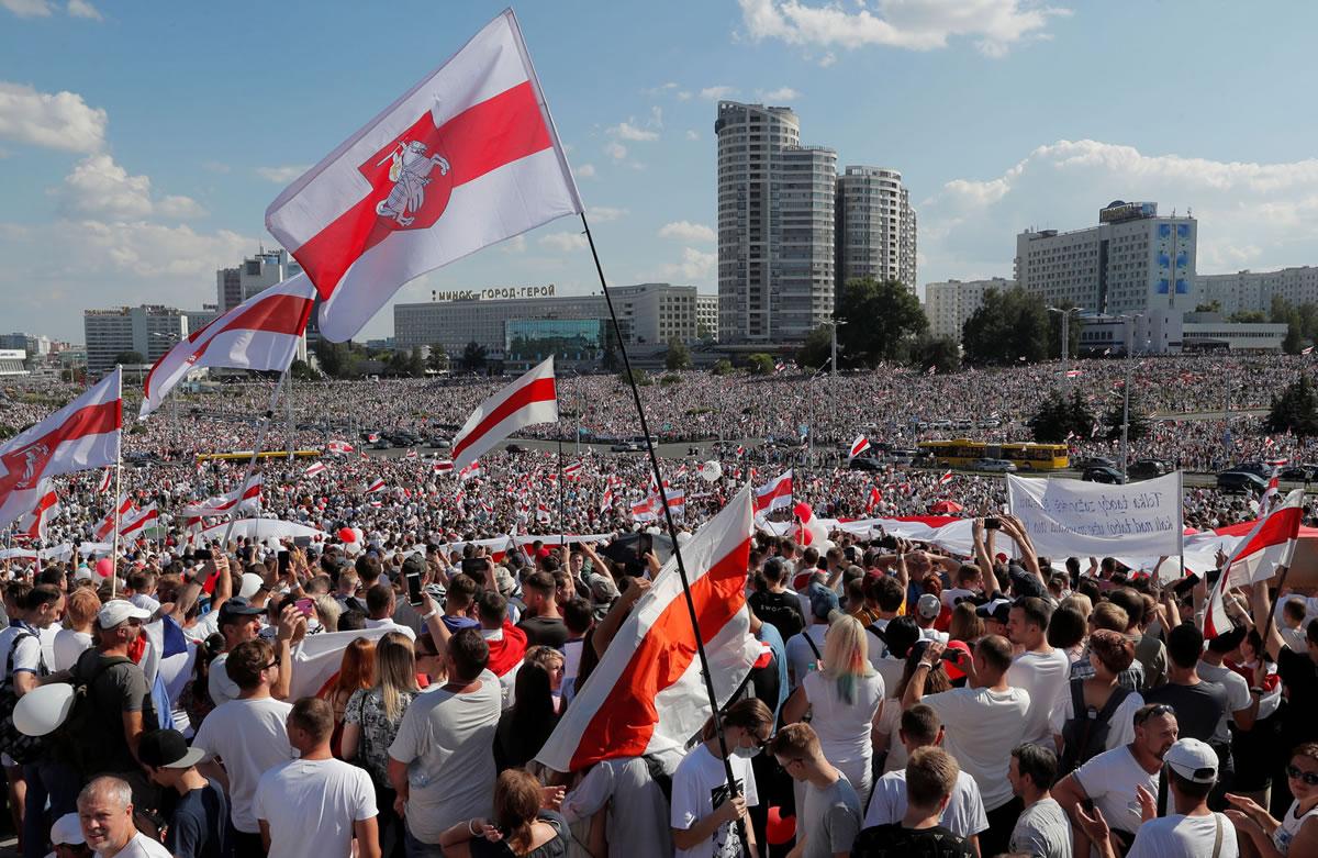 Bielorrusia convulsionada