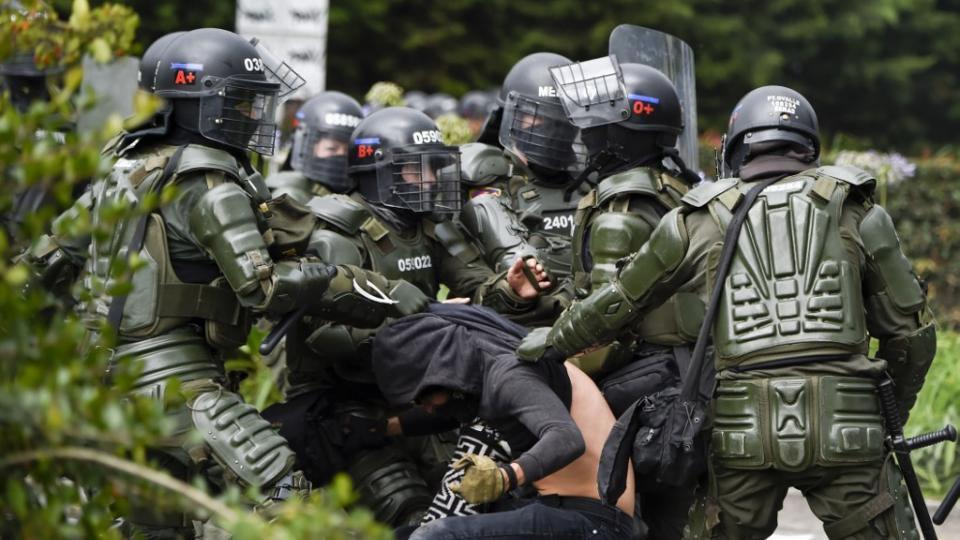 Colombia convulsionada