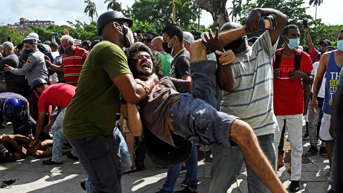 Petición ante la represión de la protesta social en Cuba
