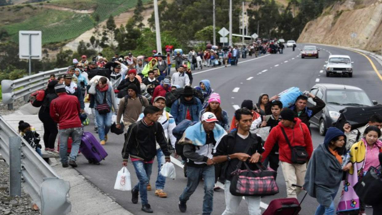 The Venezuelan diaspora and the Cuban example