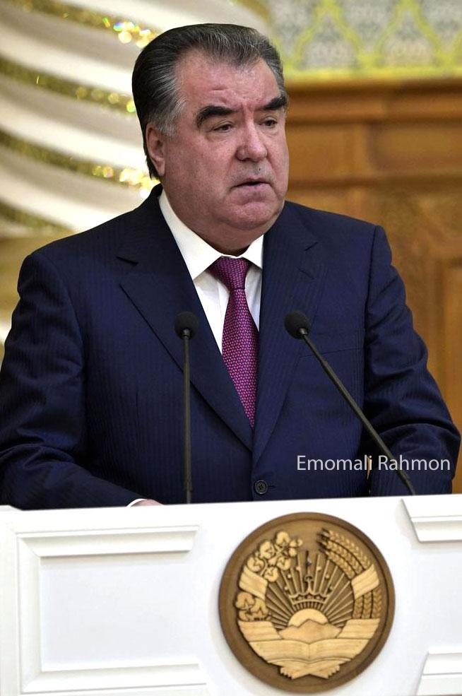 Emomali Rahmon, Presidente Tayikistan