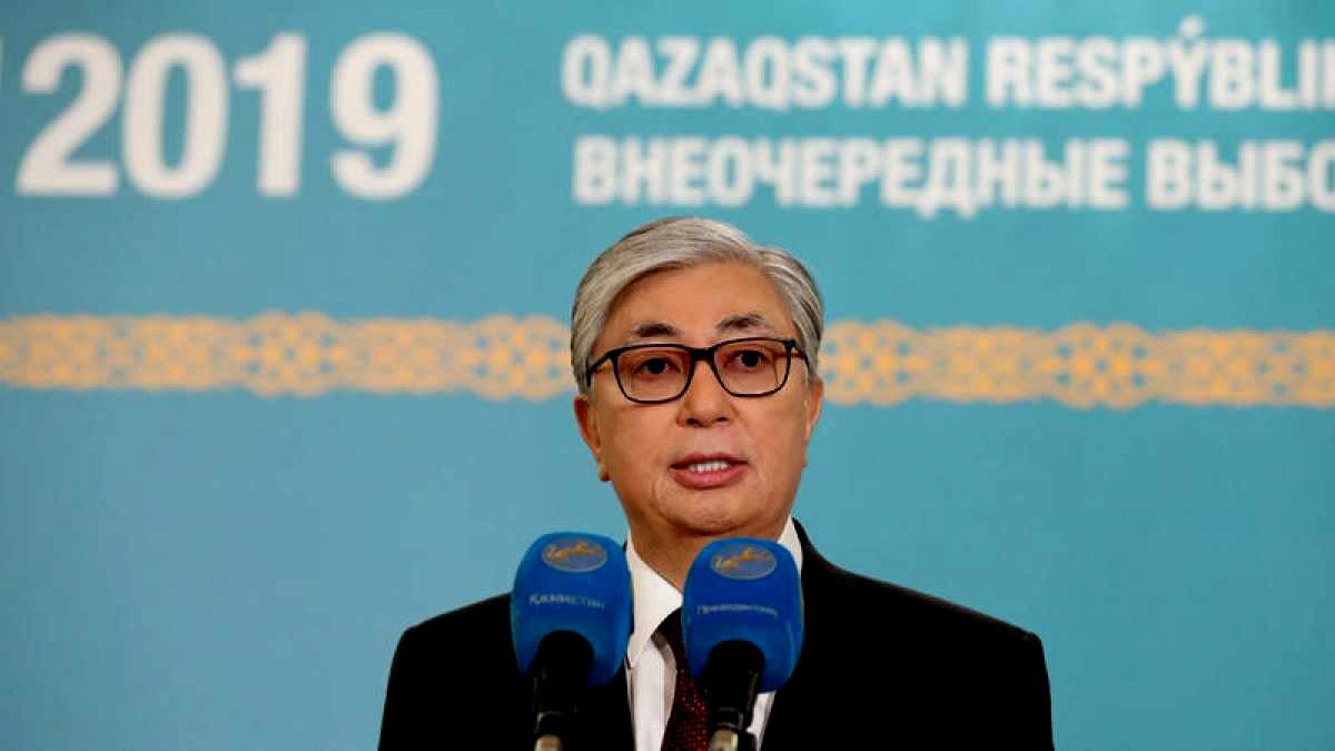 Kasim-Yomart Tokaev, presidente de Kazajistán