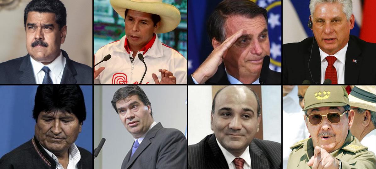 Los líderes mojigatos de América Latina