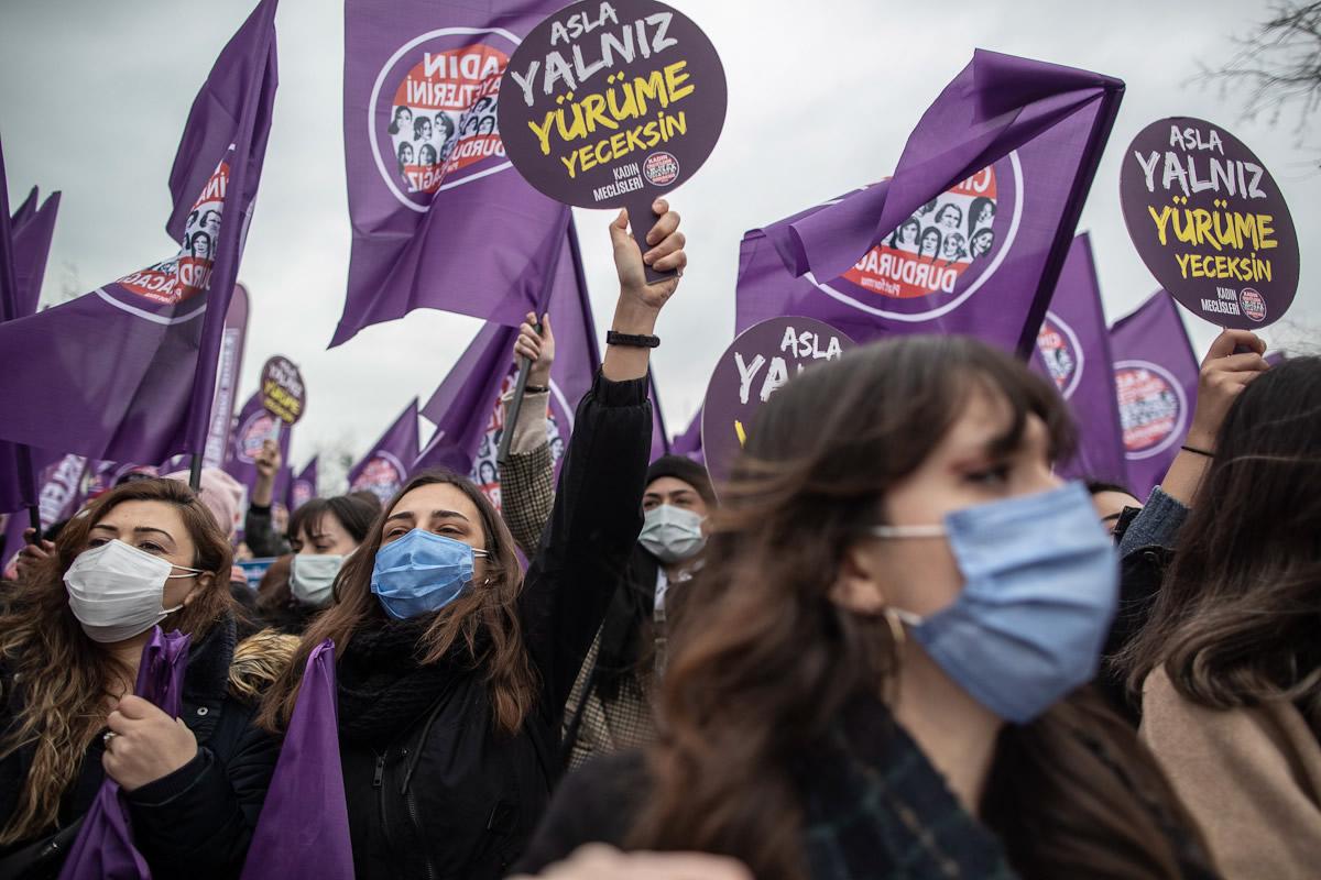 Protestas en Estambul