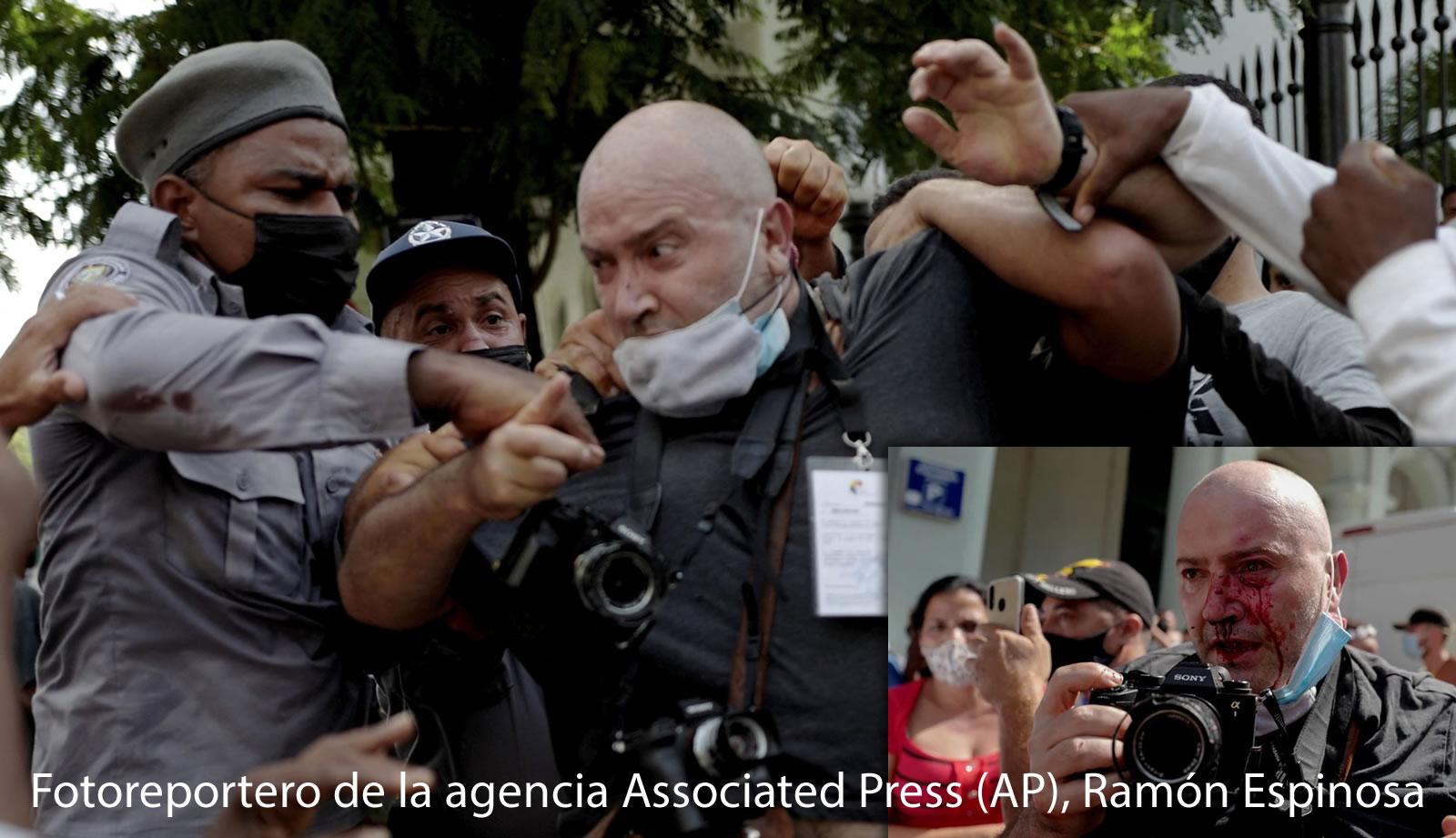 Fotoreportero de la agencia Associated Press (AP), Ramón Espinosa