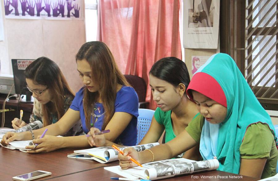 Women's Peace Network: una red de mujeres luchando por la paz en Myanmar