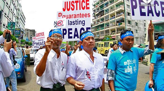 Birmania / Marcha por la Paz y la Justicia