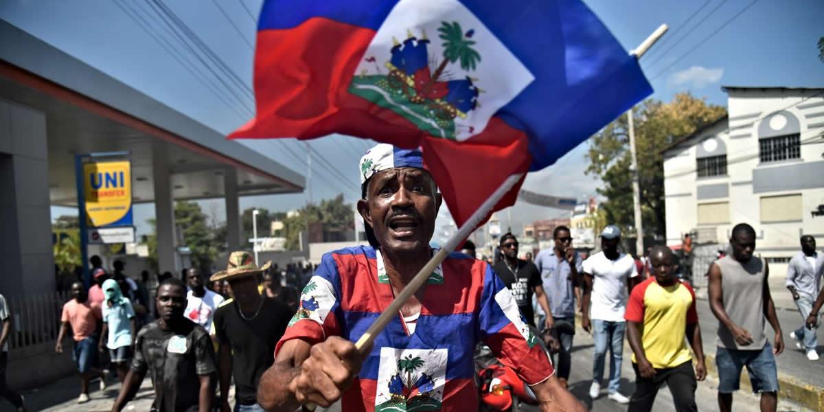 Conflicto en Haiti