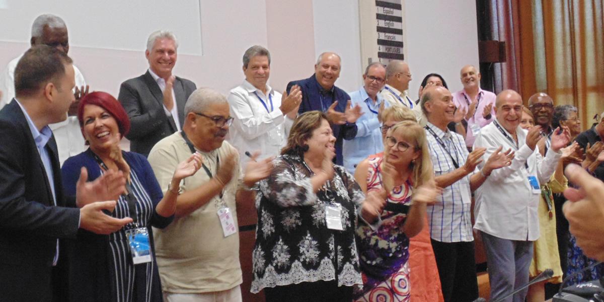 Congreso UNEAC Diaz-Canel