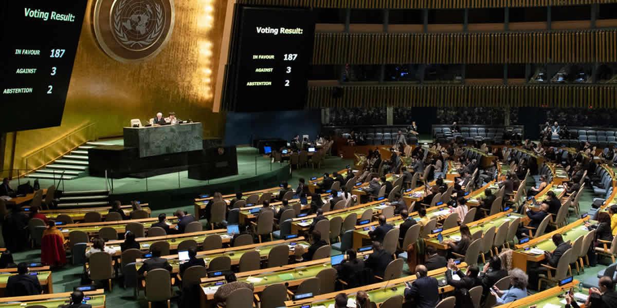 Votación en la ONU favorece a la dictadura cubana.