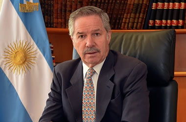 Argentine Republic's Minister of Foreign Affairs Felipe Solá