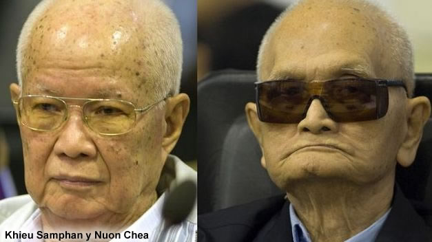 Khieu Samphan y Nuon Chea